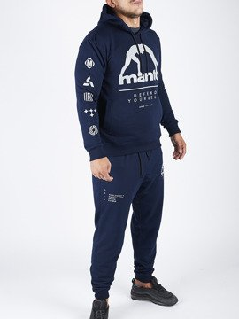 Hooded Tracksuit Elements Navy Blue