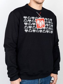 MANTO crewneck HERB black
