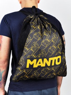 MANTO gym sack FISTS black