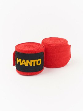 MANTO  handwraps BASICO red