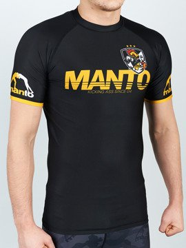 MANTO short sleeve rashguard KICKASS black