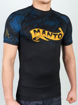 MANTO short sleeve rashguard PERFECT STORM black