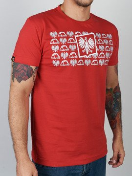 MANTO t-shirt HERB red