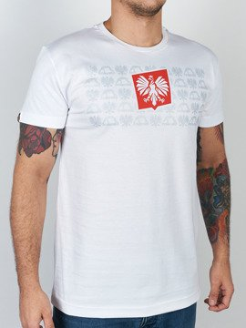 MANTO t-shirt HERB white