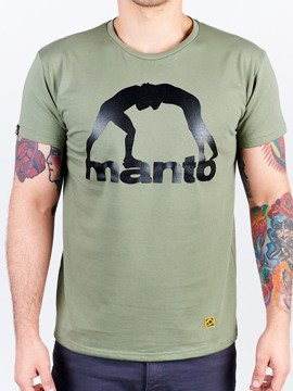 MANTO t-shirt VIBE olive