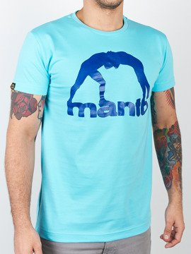 MANTO t-shirt VIBE turquoise