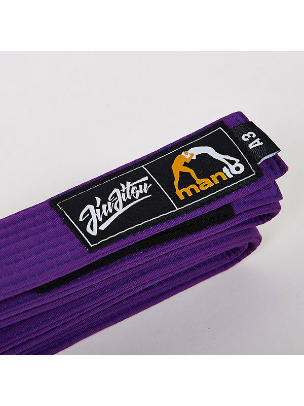 MANTO belt BJJ purple   BJJ GEAR \ BJJ BELTS   Top Quality