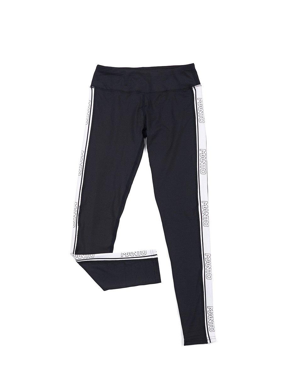 8384a854ccc73e MANTO gym leggings LOGO black | WOMEN | Top Quality Rashguards, MMA Shorts,  Jiu Jitsu GIs and much more ! MANTO Europe