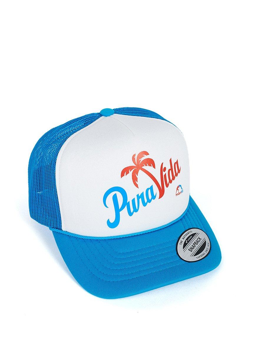 MANTO hat PURA VIDA mesh foam baby blue | CLOTHING \ CAPS