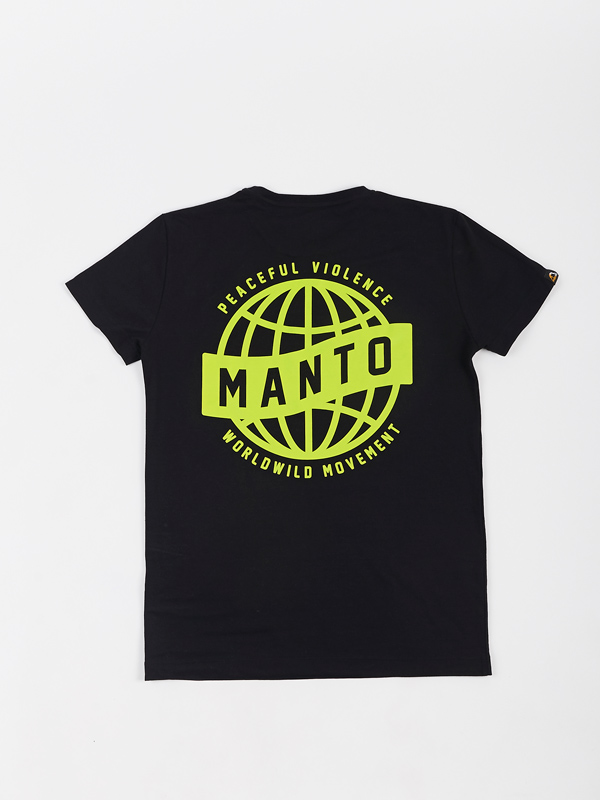MANTO t-shirt MOVEMENT black | CLOTHING  T-SHIRTS | Top Quality ...