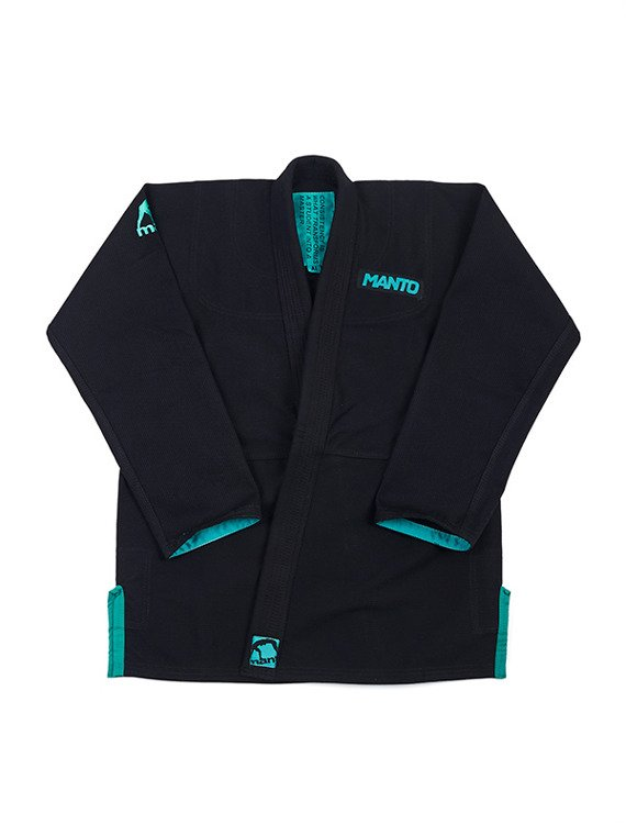 "MANTO ""INTRO"" BJJ GI black"