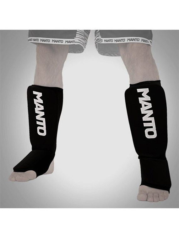 "MANTO ""LOGOTYPE"" Shinpad Black"