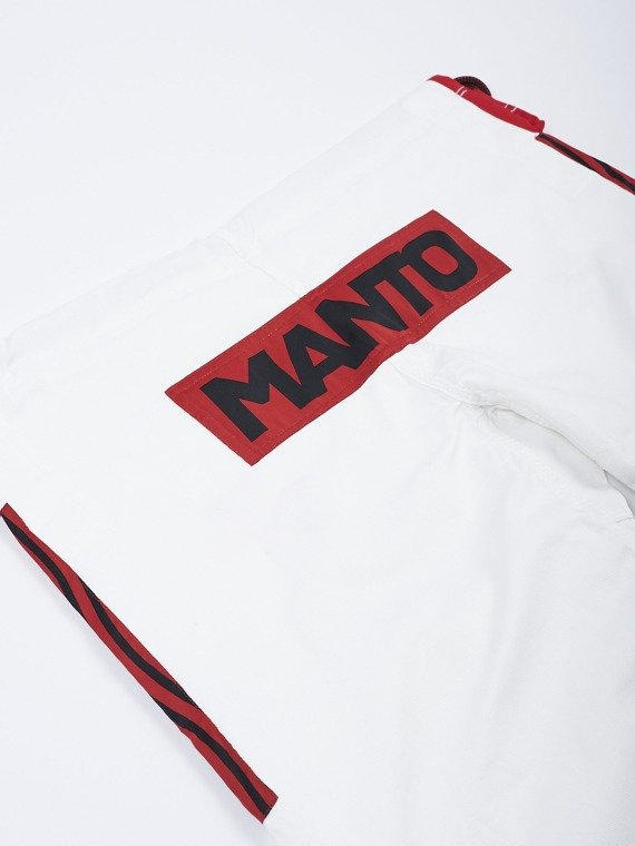 "MANTO ""SHINOBI"" BJJ GI white"