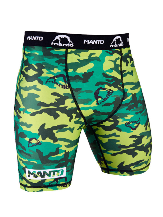 MANTO VT shorts CAMO green