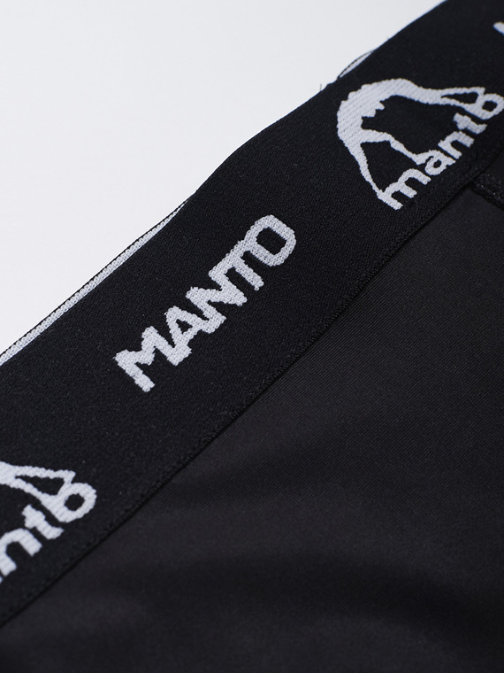 MANTO VT shorts DUAL LOGO black