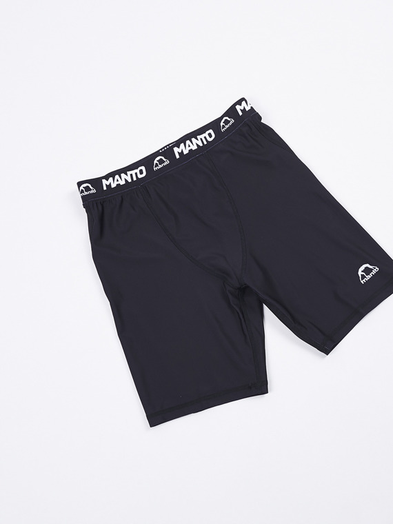 MANTO VT shorts STRIPE black