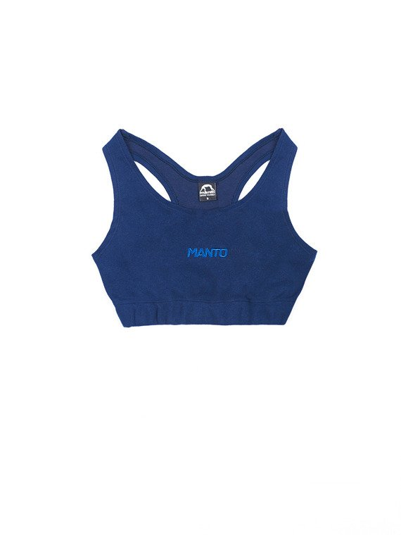 MANTO active top YOGA navy blue