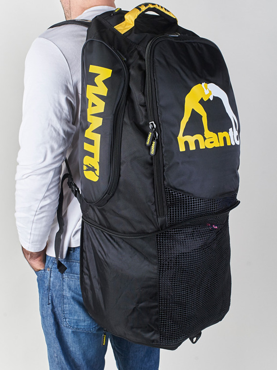 MANTO backpack VICTORY black