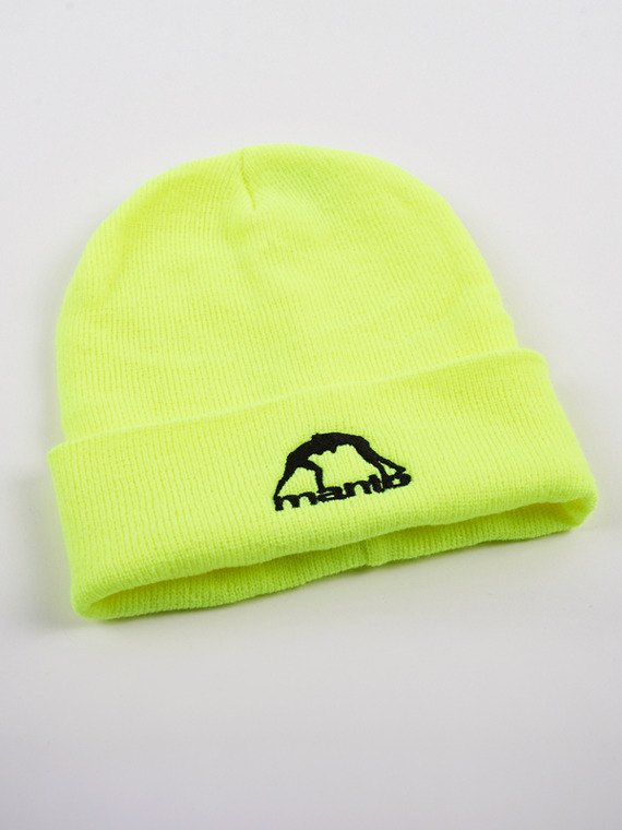 MANTO beanie CLASSIC fluo