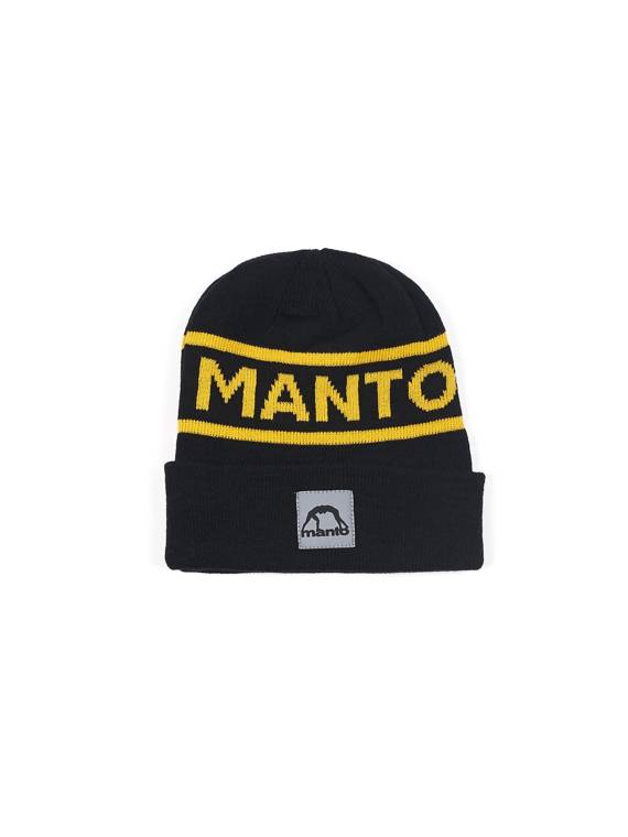 MANTO beanie LABEL black