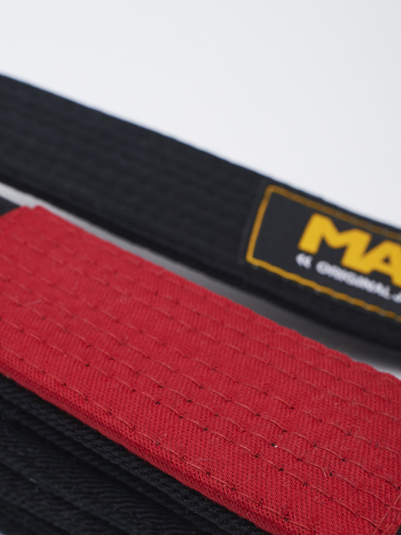 MANTO belt BJJ ORIGINAL black