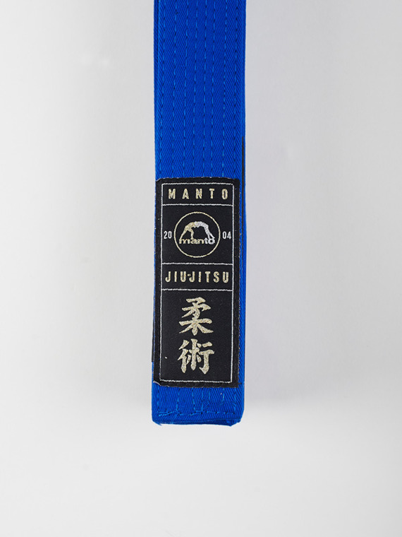 MANTO belt BJJ PREMIUM blue
