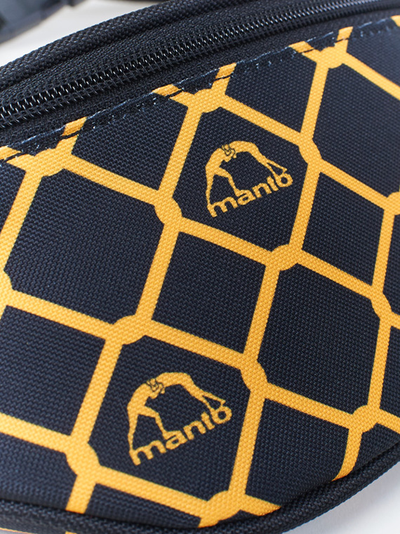 MANTO beltbag CAGE black