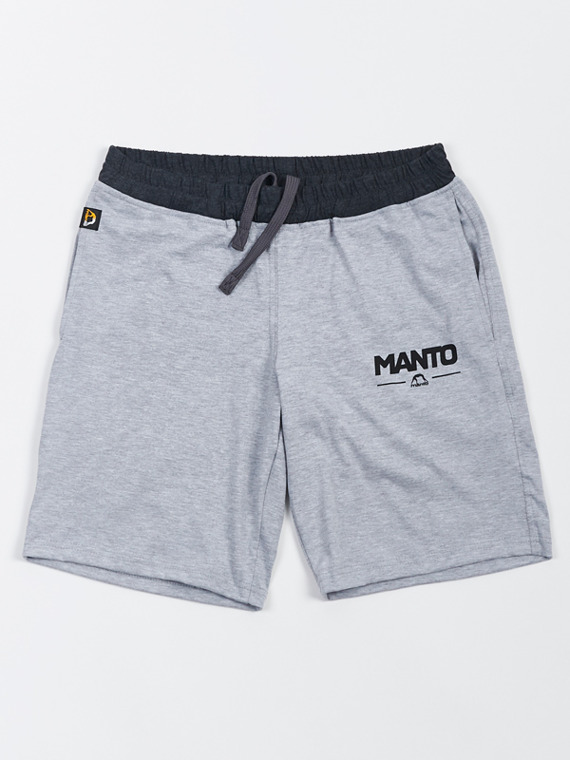 MANTO cotton shorts COMBO LIGHT melange