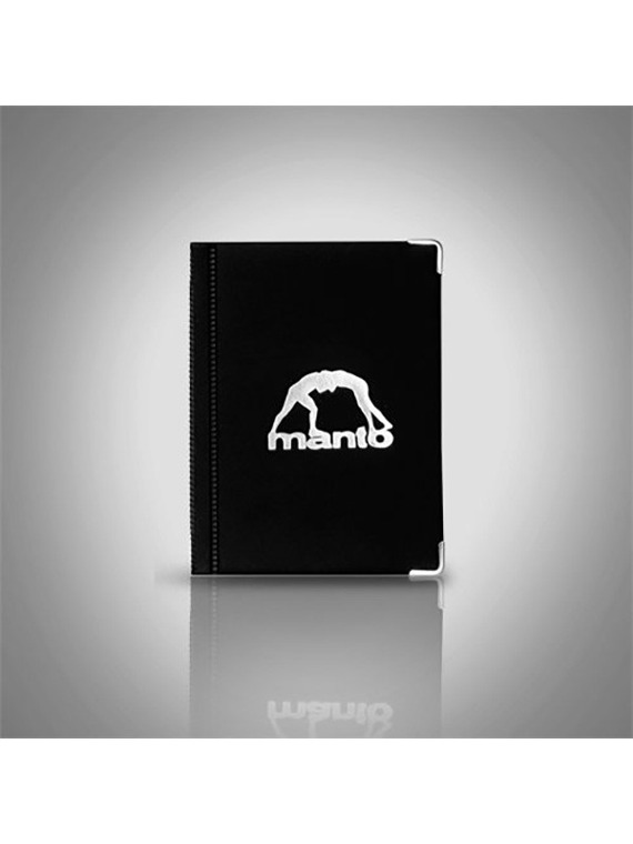 MANTO cover big LOGO black