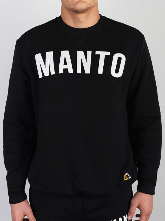 MANTO crewneck ARC black