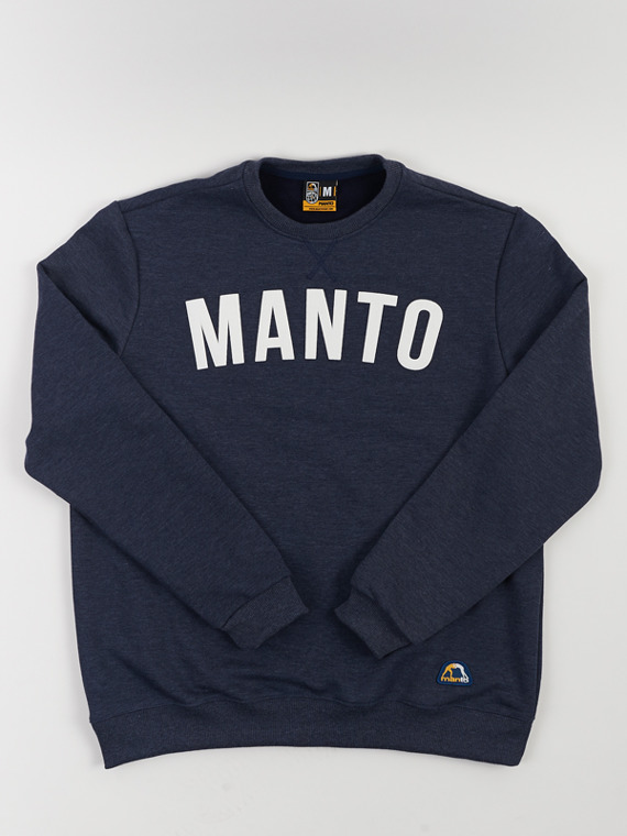 MANTO crewneck ARC denim