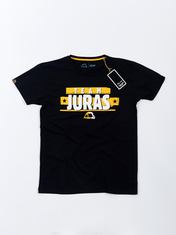 MANTO fan support t-shirt TEAM JURAS black