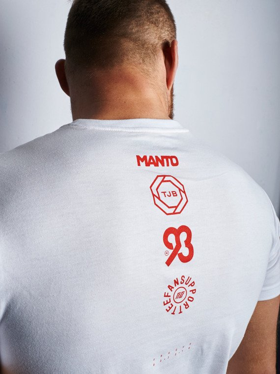 MANTO fan support t-shirt Team JANEK white