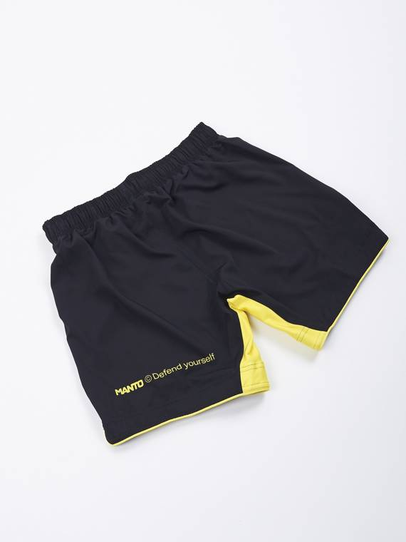 MANTO fight shorts ALPHA black