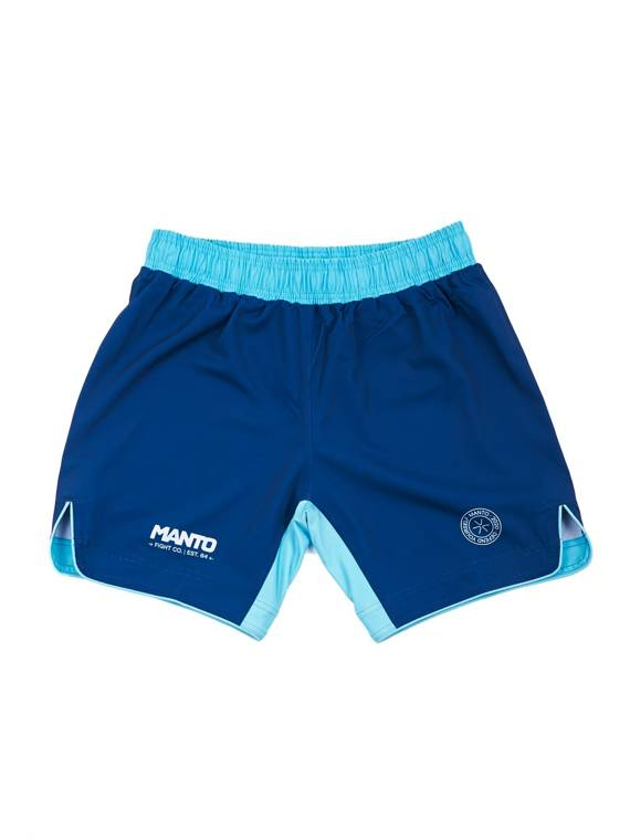 MANTO fight shorts ALPHA navy blue
