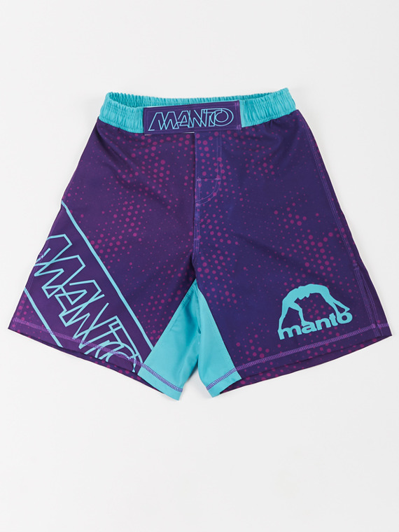 MANTO fight shorts DOTS violet
