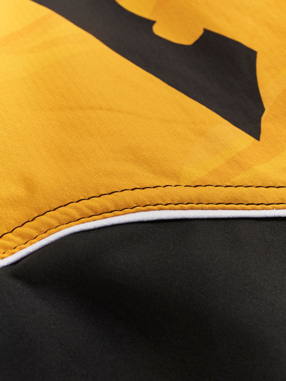 MANTO fight shorts DUAL yellow