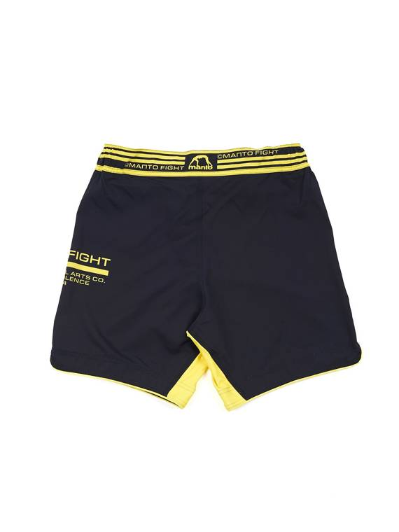 MANTO fight shorts FUTURE black