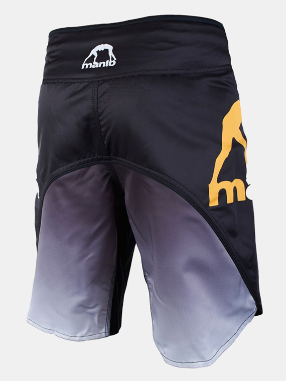 MANTO fight shorts GRADIENT black