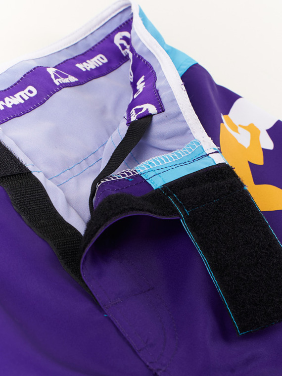 MANTO fight shorts GRADIENT violet