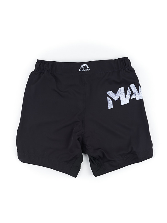 MANTO fight shorts STENCIL black