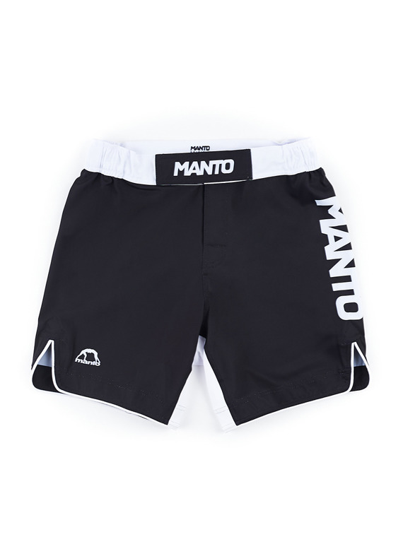 MANTO fight shorts STRIPE black