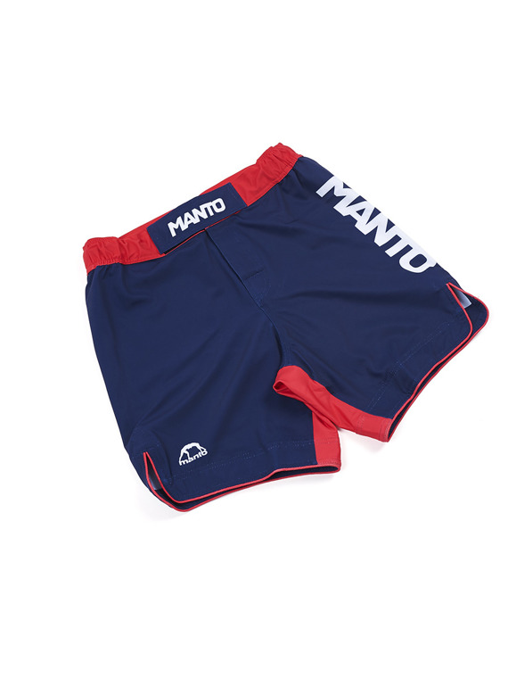 MANTO fight shorts STRIPE navy blue