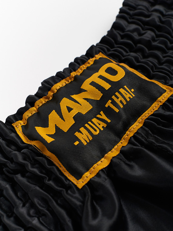 MANTO fightshorts MUAY THAI FISTS black