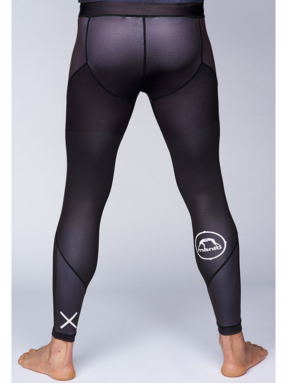MANTO grappling tights ATHLETIC black