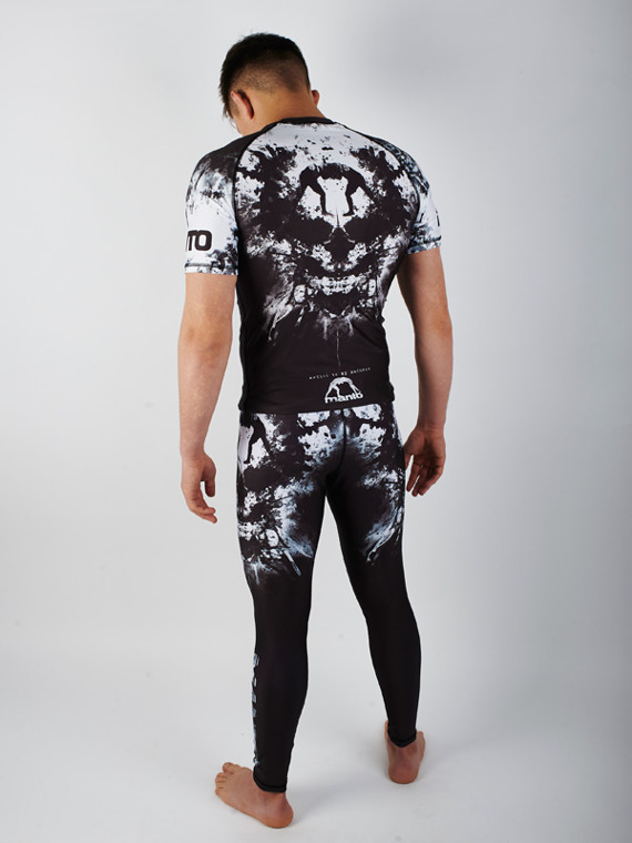 MANTO grappling tights MADNESS black