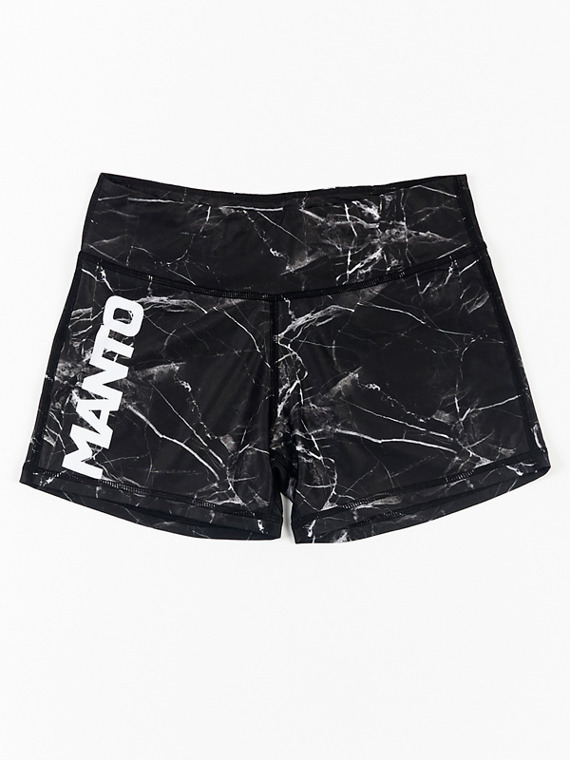 MANTO gym shorts BLACK