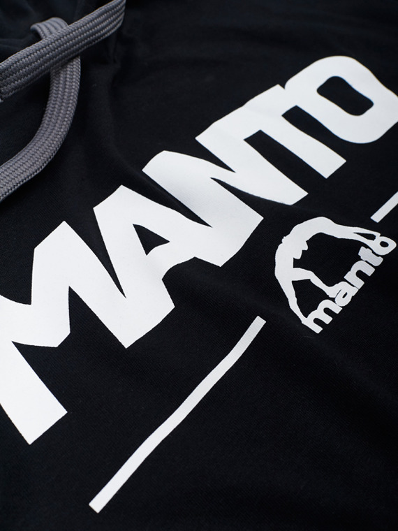 MANTO hoodie COMBO LIGHT black