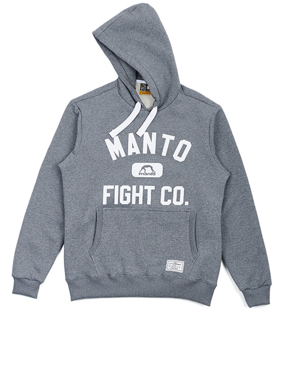 MANTO hoodie FIGHT CO melange
