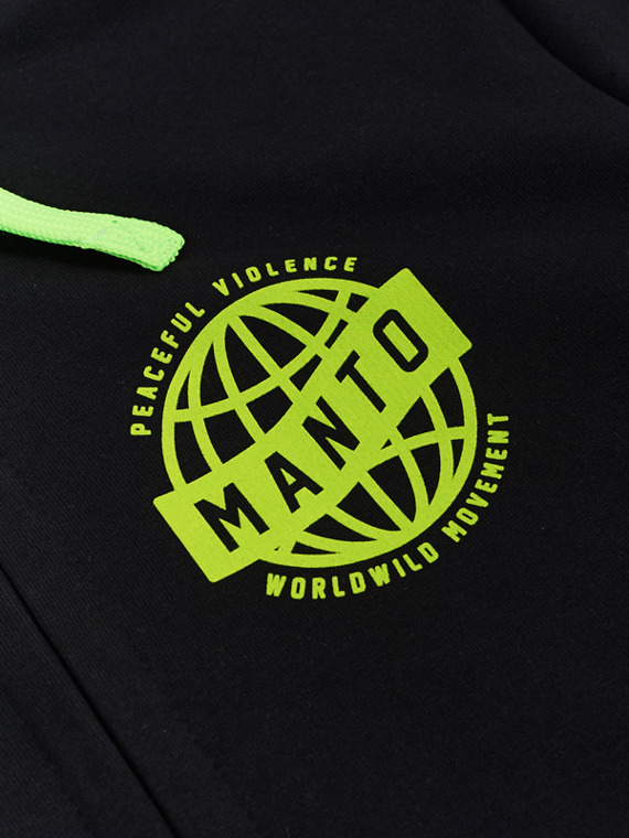 MANTO hoodie MOVEMENT black